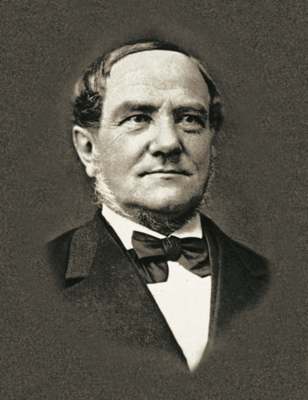 Historic profile shot of Victor von Bruns
