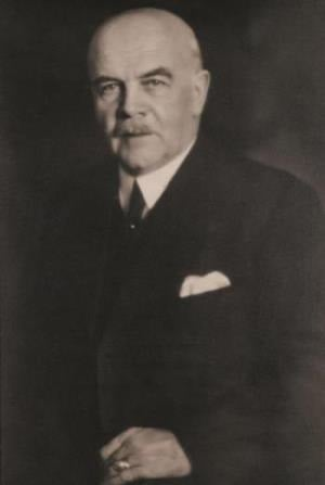 Historical portrait of Walther Hartmann