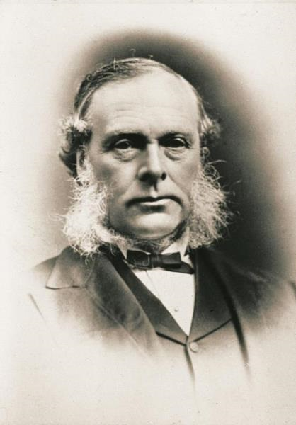 Historical portrait of Sir Joseph Lister