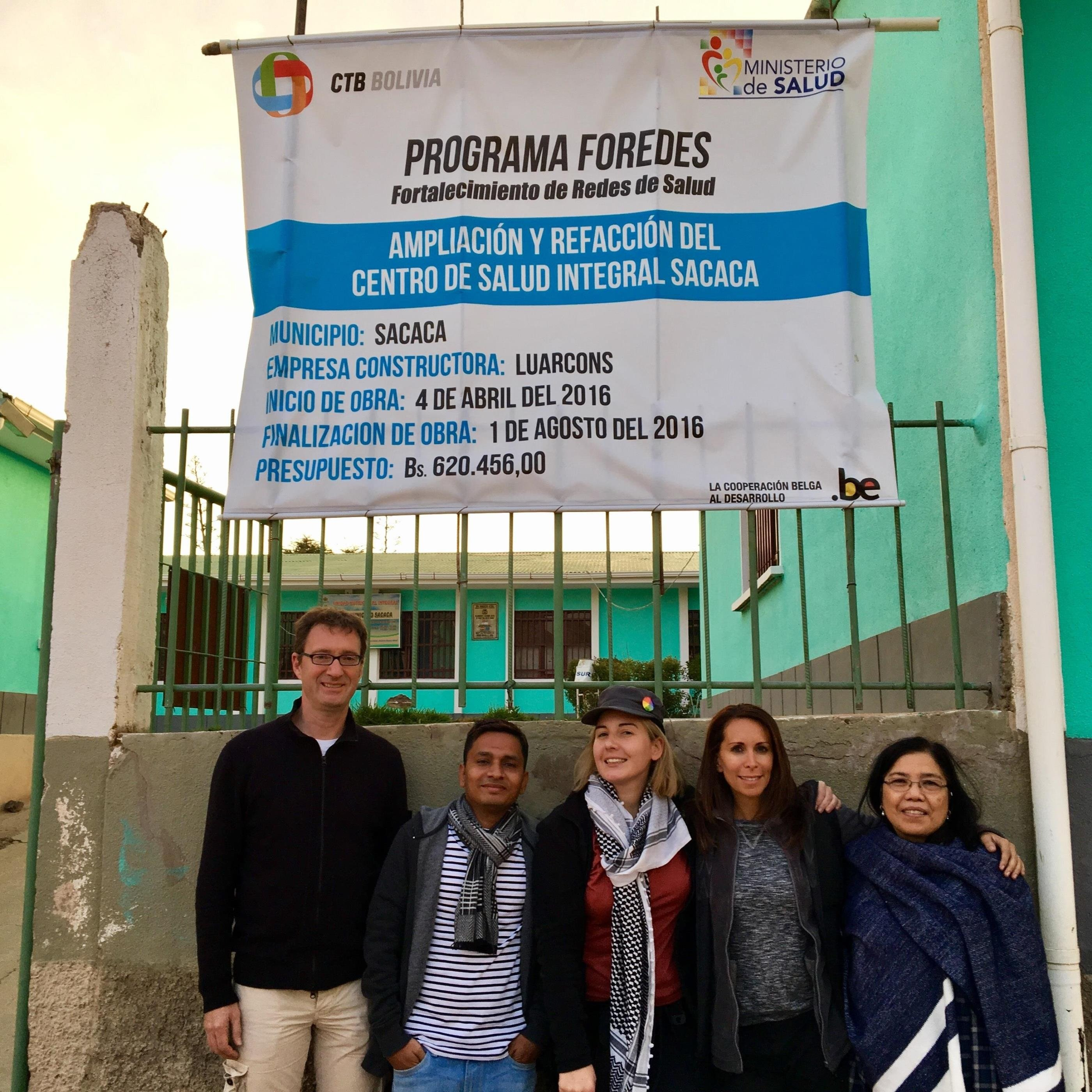 HARTMANN employees during a CARE mission in Bolivia