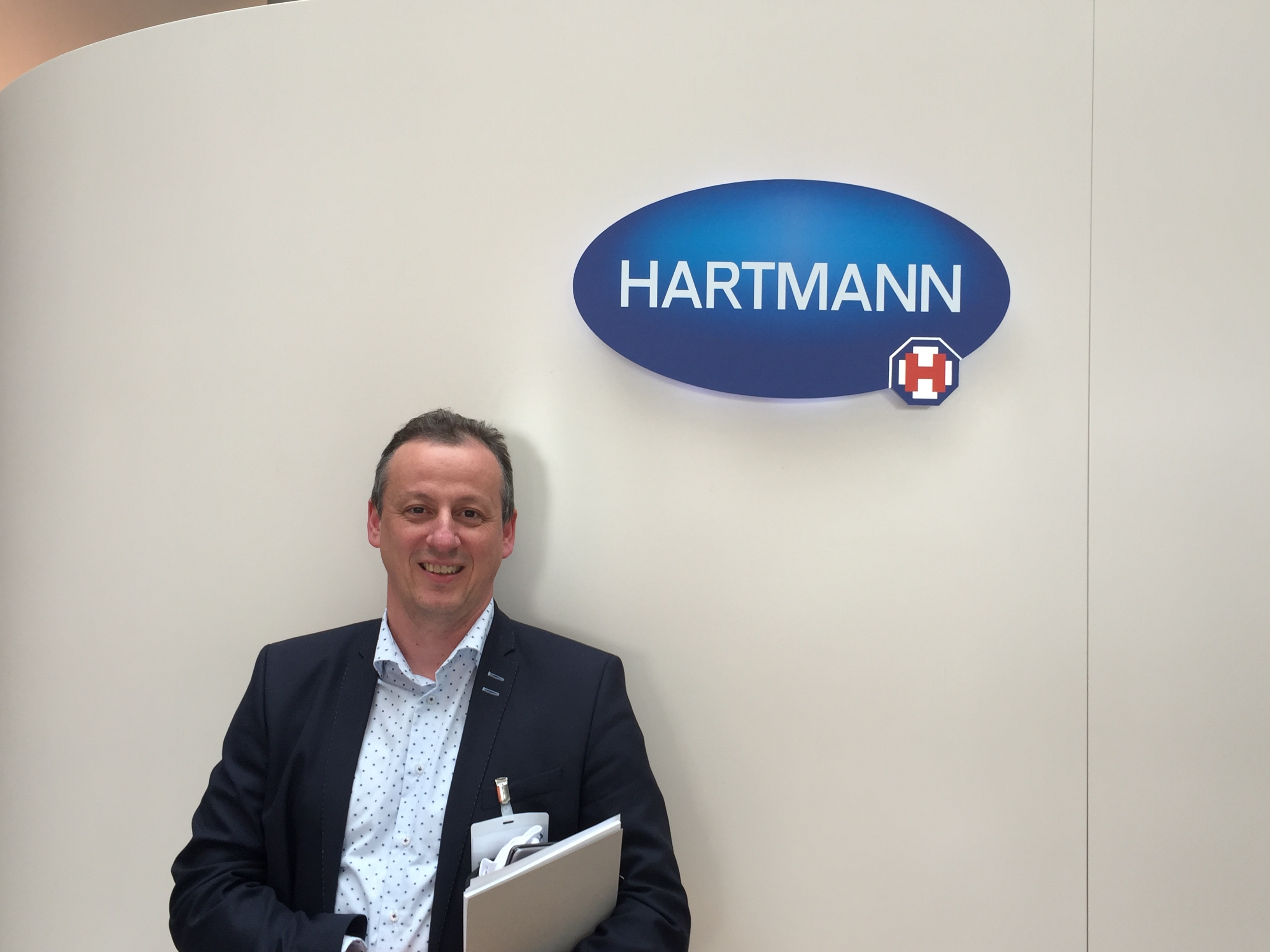 Stefan Brosens, HARTMANN Business Unit Manager