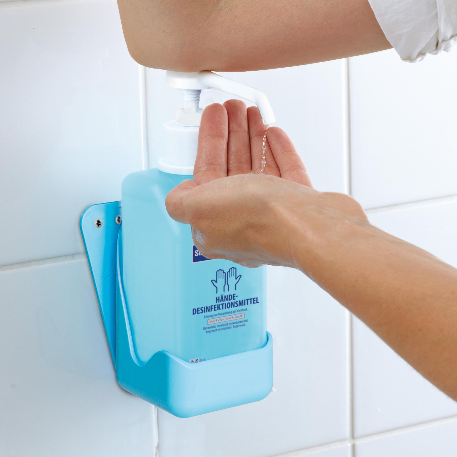 Desinfektionsmittel-Halter Seifenspender für 500ml Flaschen Stand-Wandmontage