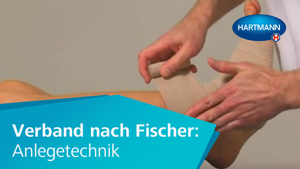 "Video ""Verband nach Fischer: Anlegetechnik"""
