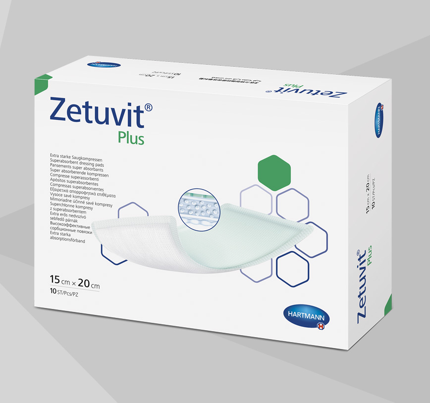 Zetuvit Plus product box