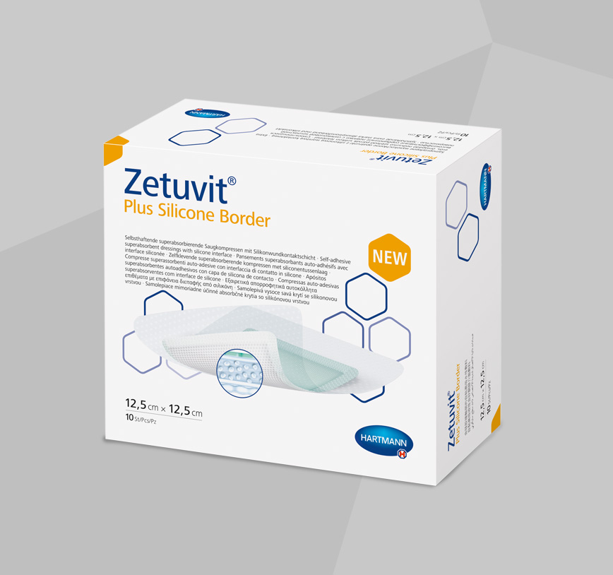 Zetuvit product range in box